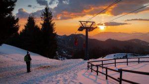 tramonto monte poieto