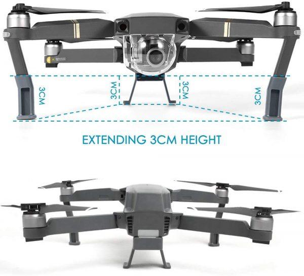 gambe drone mavic pro