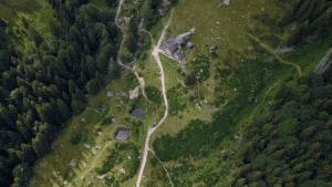 Vista aerea Val d'Inferno